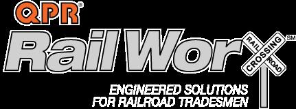 QPR RailWorx | Engineered Solutions for Railroad Tradesmen Retina Logo