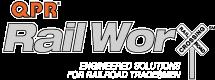 QPR RailWorx | Engineered Solutions for Railroad Tradesmen Logo